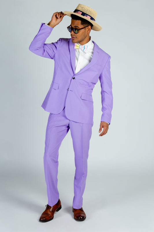 Men's Purple Derby Suit