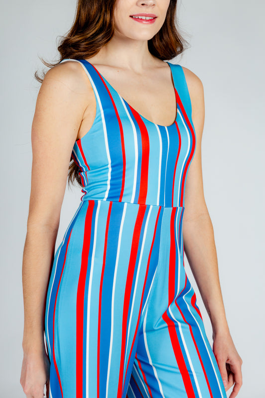 derby inspired jumpsuit for women