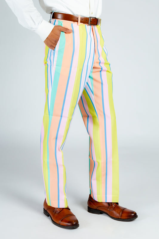 The Tommy Filtheger | Pastel Stripe Suit