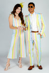 retro derby jumpsuit for women