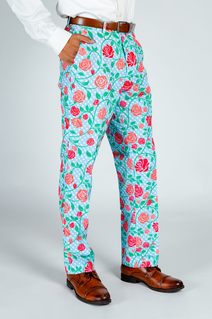 The Kentucky Fried Daily Double | Gingham Roses Derby Pants