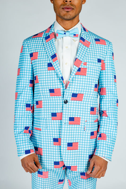 use themed suit jacket