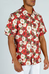 red and white hawaiian shirt for derby