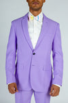 pastel purple suit jacket