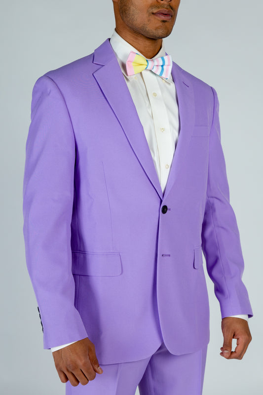 purple derby suit jacket