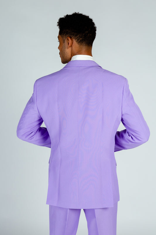 purple derby suit