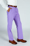Purple Suit pants