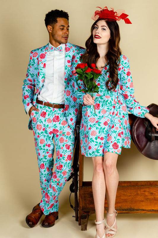 matching derby outfits