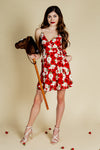 roses strappy derby dress