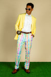 The Summer Shandy | Yellow Pastel Blazer