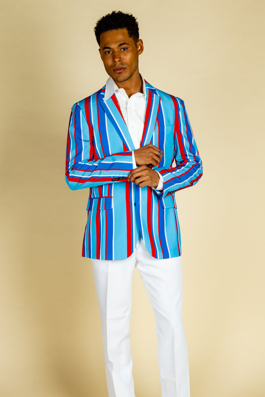 derby patriotic blazer