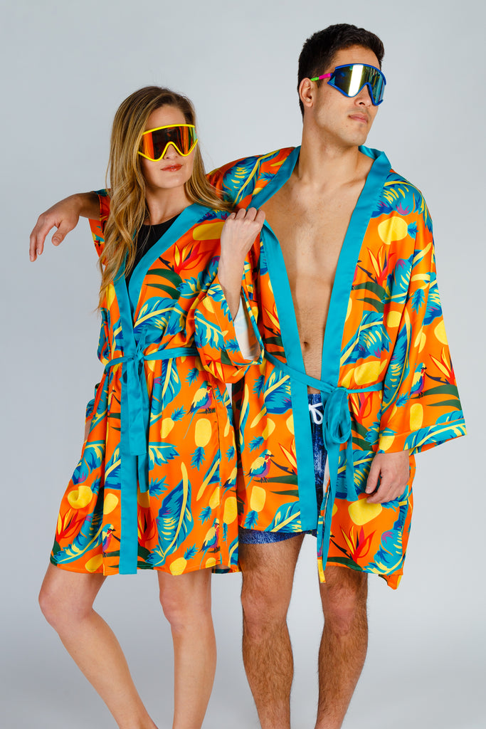 The Cruise Ship Casanova | Hawaiian Party Kimono