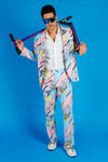 men's 80s retro suit