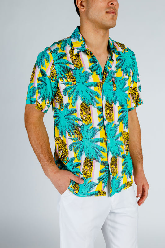 Jaguar hawaiian shirt