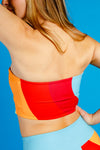 The Chella Chaser | Women's Retro Swoop Bandeau Top