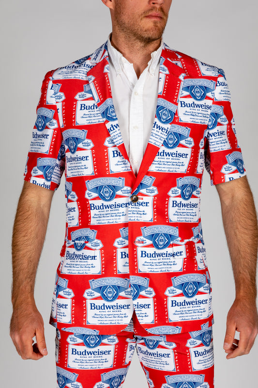 Official Budweiser Short Sleeve Blazer