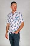 Men's Official Budweiser Hawaiian Shirt