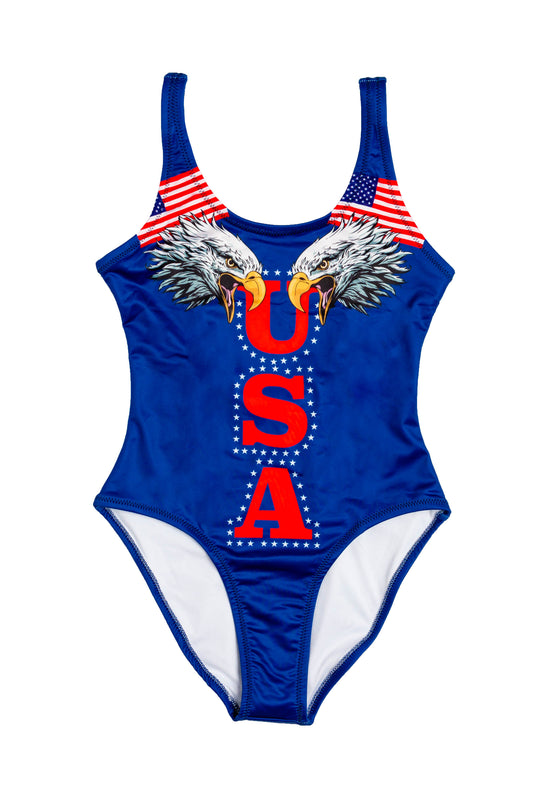 women's USA eagle swimsuit