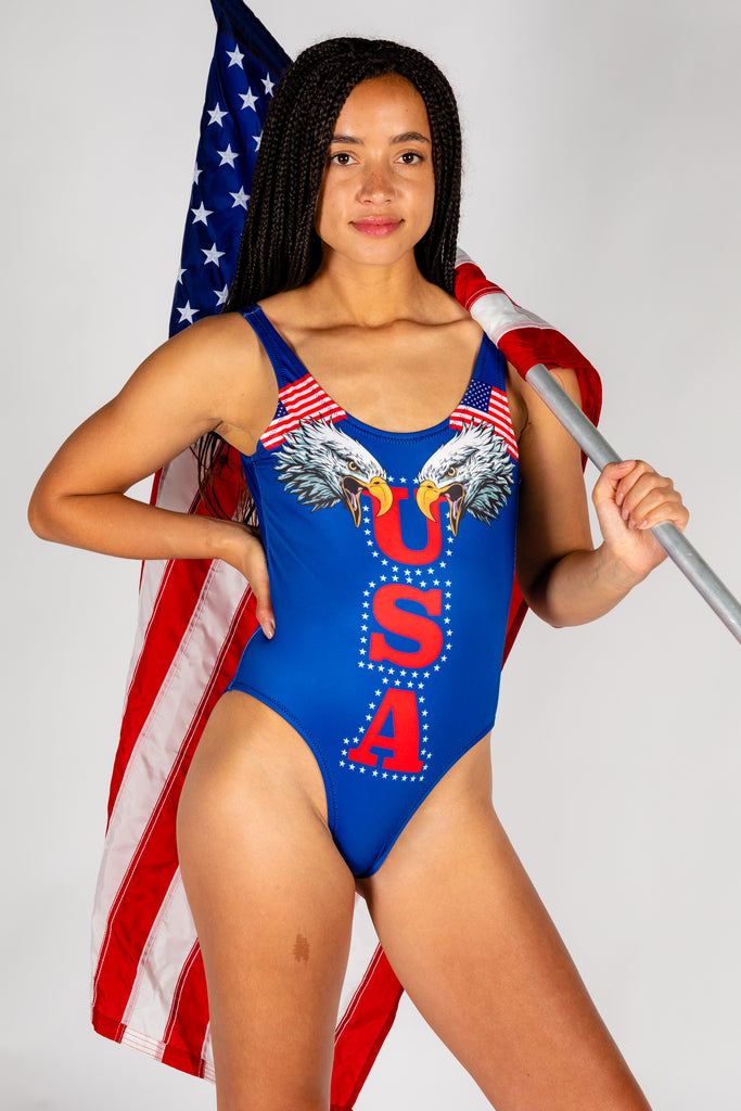 The Double Es | Eagle One Piece Swimsuit