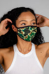The 70s Camo | Camo Print Face Mask