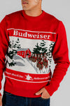 The Classic | Budweiser Ugly Christmas Sweater