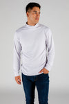 The Hickey Hider | White Stretch Turtleneck