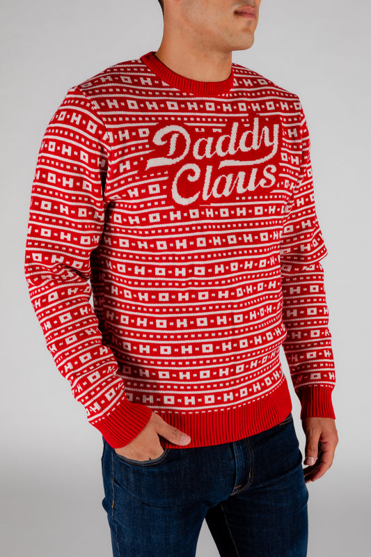 red holiday ugly sweater party
