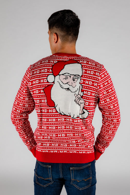ugly sweater party outfit santa
