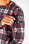 The Scotch On The Rocks | Mens Christmas Pajama Top