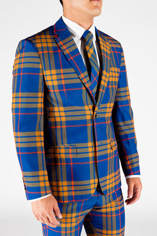 The Pipe Tobacco | Blue Plaid Suit