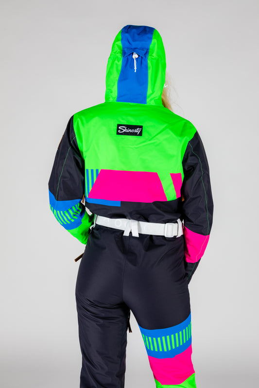 The Steep And Deep | Women's Retro Black Ski Suit | Pre-Order | Ships in December 2020