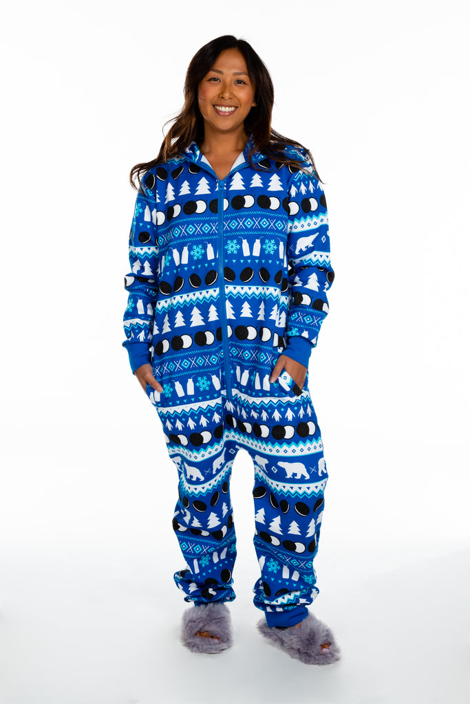 Milk's Favorite | Ladies Unisex OREO Print Christmas Onesie