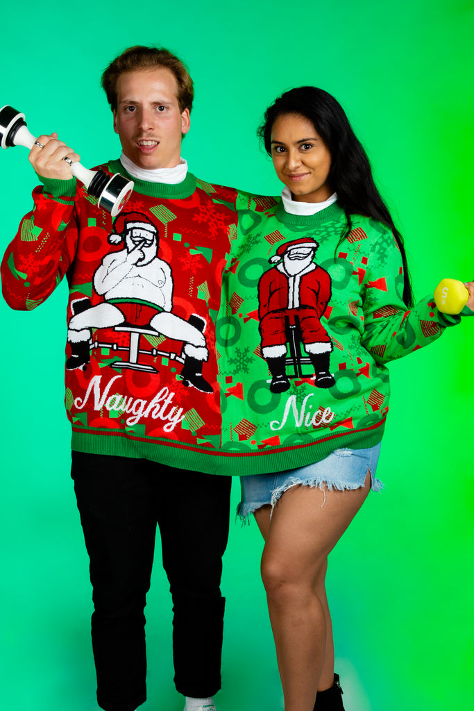 The Kegel Express | Two Person Christmas Sweater