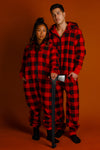 Couples matching onesie pajamas