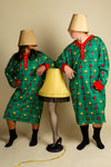 The Fragile | Ladies Green Lampshade Christmas Nightgown and Cap