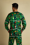 Christmas Tree Camouflage PJs