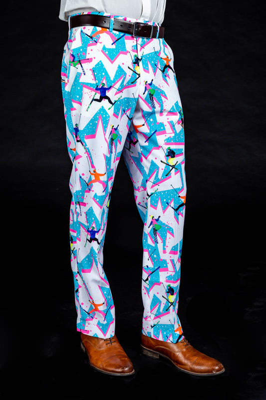 The Yard Sale Ski Print Dress Pants