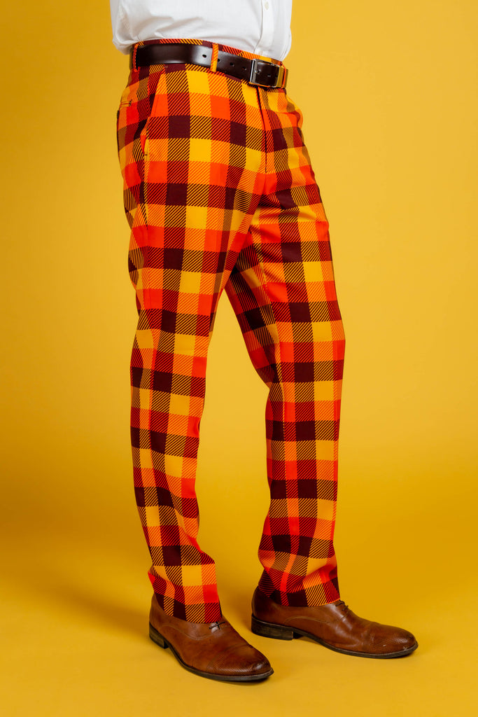 That 70S Suit | Thanksgiving Plaid Pant
