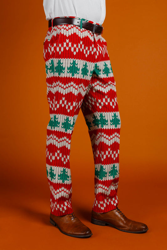 The Red Ryder Christmas suit pants