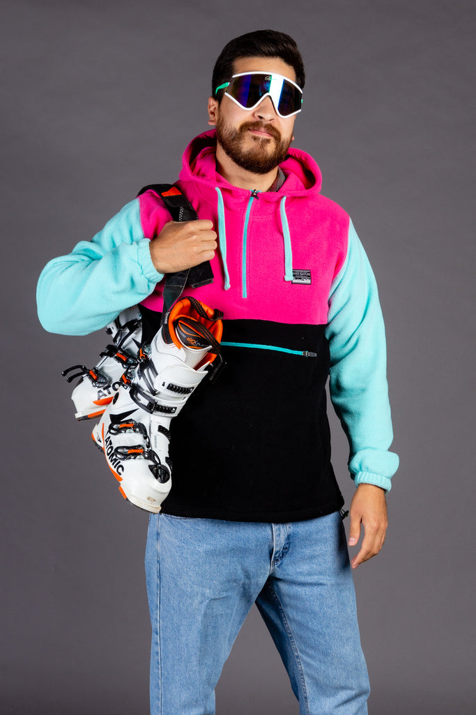 The Blockade | Color Blocked Fleece Hoodie