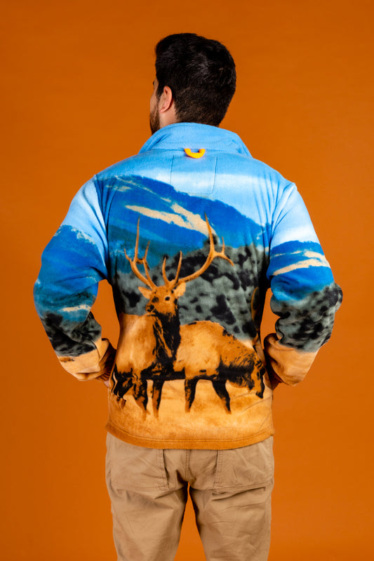 Outdoor Elk Jacket For Guys