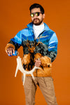Men's Hunter Jacket Elk Print