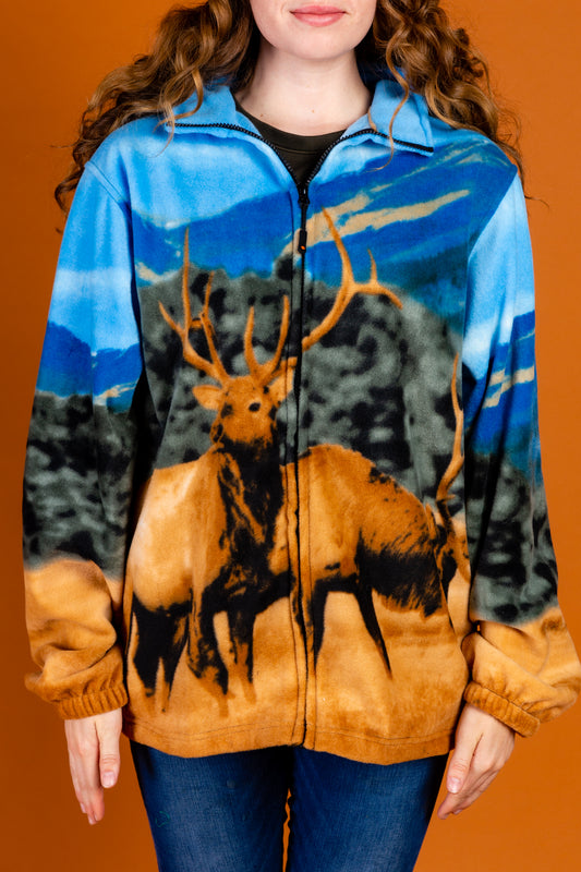 Ladies Outdoor Elk Fleece Sweater