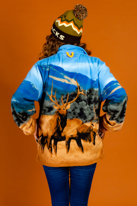Hunting Nature Jacket with Elks