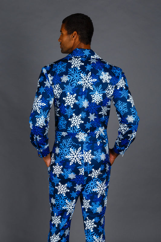 The Young Frosty | Snowflake Christmas Flight Suit