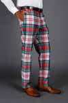 Scotch on the Rocks holiday plaid Christmas suit pants