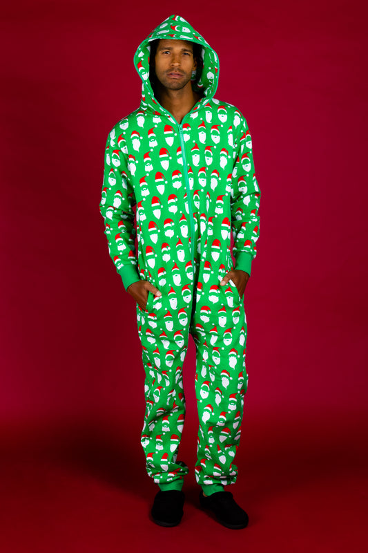 Holiday santa pjs for adults