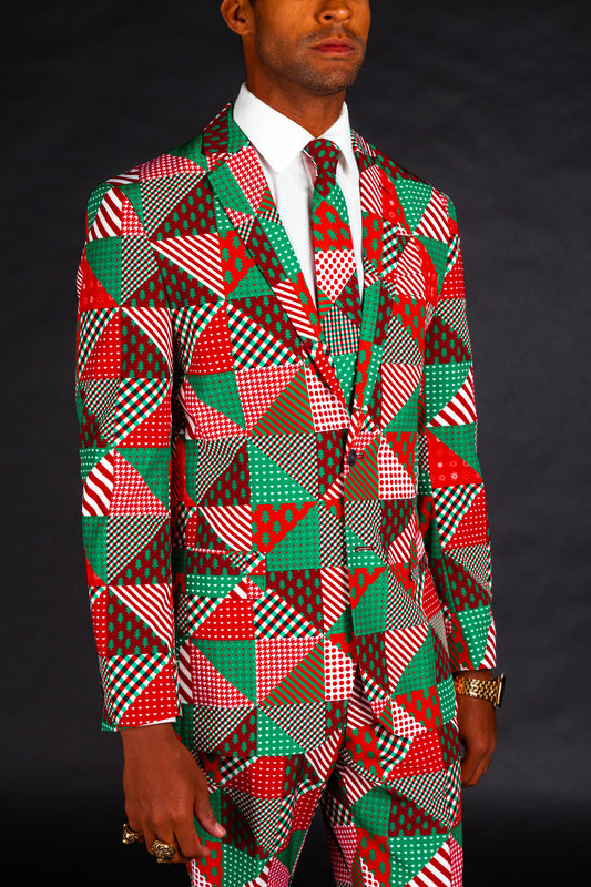 The Bonus Room Quickie | Patchwork Christmas Tree Suit
