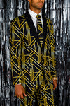 Art deco suit for men