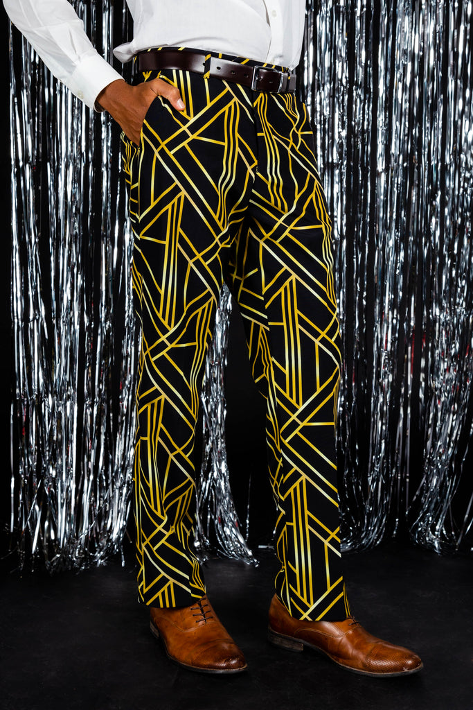 The Ball Droppers | NYE Art Deco Pants